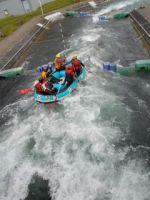 Teambuilding Rafting op de wildwaterpiste in arras noord frankrijk Foto1