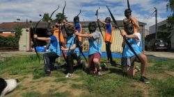 Provincie Limburg Dijle Floats Archery Tag