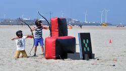 kinderactiviteiten Shoot out Knokke-Heist Archery Tag Kids