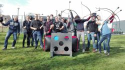 kinderen Shoot out Knokke-Heist Archery Tag B2B