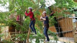 groepsactiviteiten Center Parcs Vossemeren Indoor High Adventure