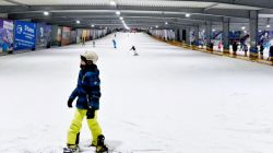 kinderactiviteiten Snow Valley Snowboarden Kids