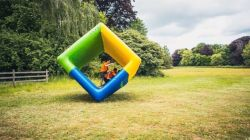 kinderen V-Formation Inflatable Fun
