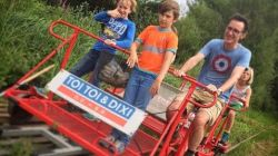 kinderactiviteiten Railbike Limburg Railbiking Munsterbilzen Kids