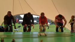 groepsactiviteiten Tierce Events Indoor Bike Races