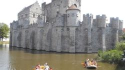 bedrijven Rafting & Outdoor Raft fotozoektocht in het historische centrum van Gent