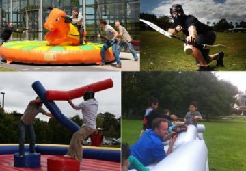 Teambuilding Dijle Floats Battle Games B2B