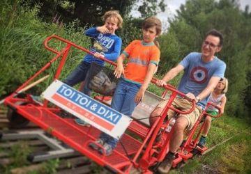 Teambuilding Railbike Limburg Railbiking Munsterbilzen
