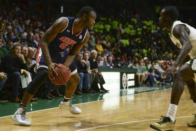 Auburn basketball-Auburn Tigers-Mustapha Heron