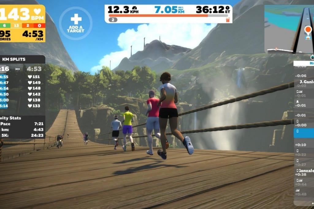 Running virtual