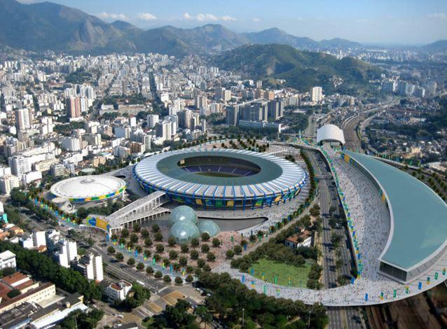 Maracanã – Estádio Jornalista Mário Filho – Rio De Janeiro