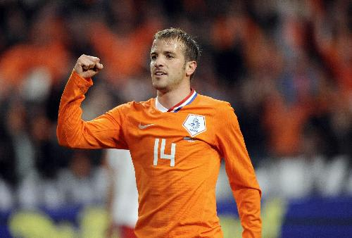 Rafael Van Der Vaart injury ruled him out of Netherlands World Cup squad