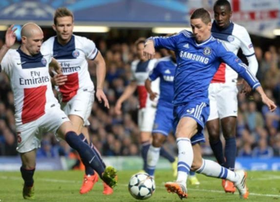Chelsea vs. Paris Saint-Germain:  (2-0) Ba's late winner dragged the Blues to semi-finals at the expense of PSG