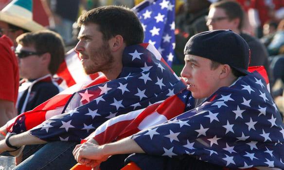 Landon Donovan Dropped From U.S. World Cup Team, U.S. soccer fans
