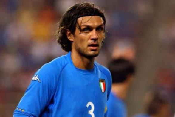 italian footballers, maldini, italian league
