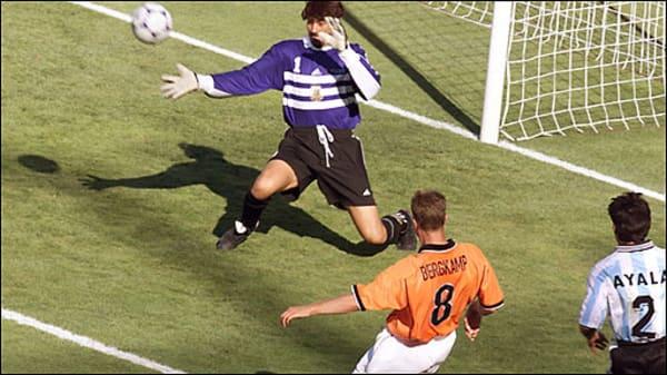dennis bergkamp, greatest dutch footballers