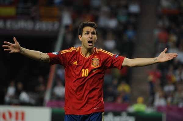 fabregas transfer, spain national team