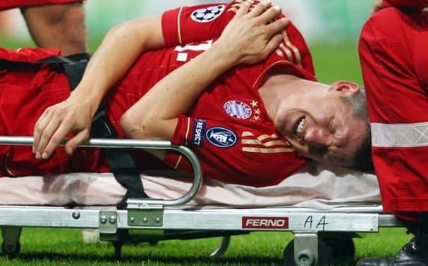 bastian schweinsteiger, bastian schweinsteiger injury, bayern injury