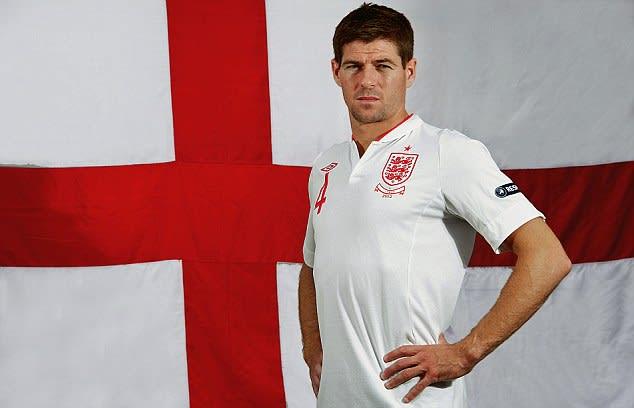 gerrard, oldest player, england national team