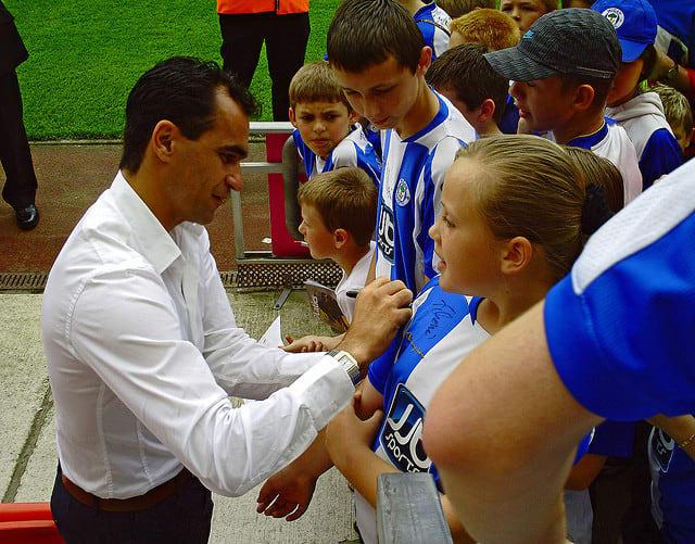 spanish national team, Roberto martinez, everton