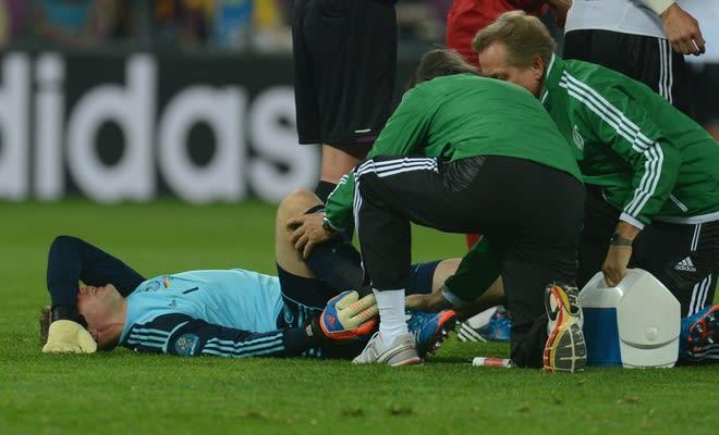 Neuer injury, german injury