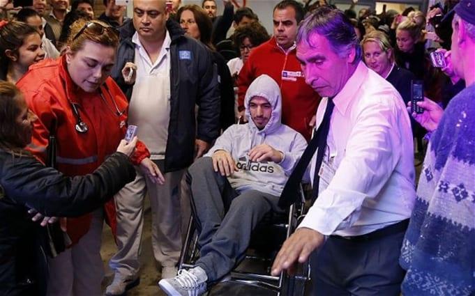 Suarez injury, Uruguay