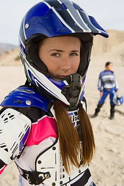 women motorcycle helmets