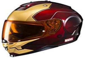 HJC Helmet Marvel IS 17- IRONMAN
