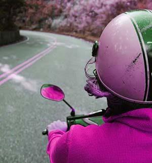 womens pink motorcycle helmets