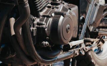 Engine braking motorcycle