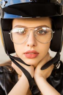 how to avoid helmet hair