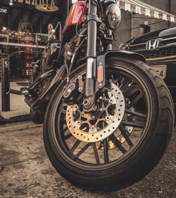 snow tires for motorcycle
