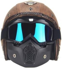Gas Mask Motorcycle Helmet