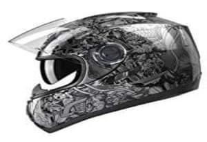 GLX Unisex- Adult GX15 Cool Looking Motorcycle Helmet