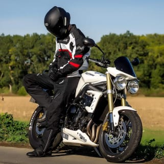 mens textile motorcycle jacket