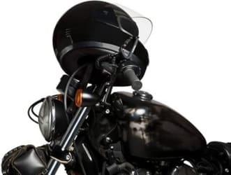 motorcycle helmet locks