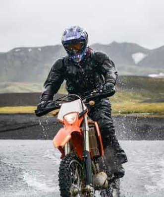 Adventure motorcycle jacket