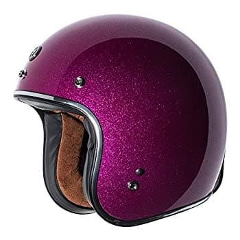 TORC Unisex-Adult - Black Open Face Style Motorcycle Helmet