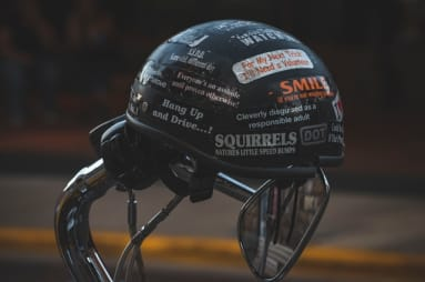 Reflective Stickers for Motorcycle Helmet