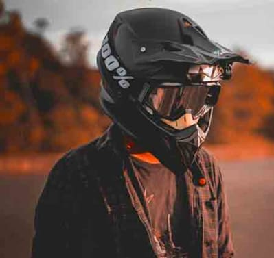 cool looking motorcycle helmet