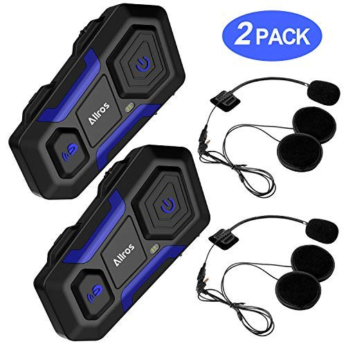 ALLROS T10 Bluetooth 3.0 - Best Budget Motorcycle Bluetooth Intercom Headset
