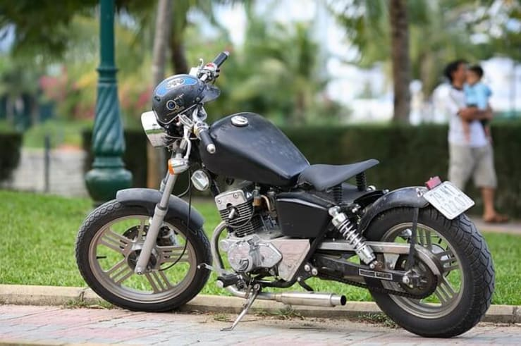 Storing Motorcycle Outside