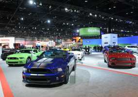 chicago auto show parking reserve save spothero