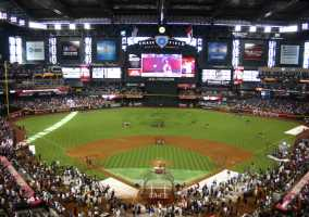 Map Of Arizona Diamondbacks Stadium.Arizona Diamondbacks Parking Reserve Save Spothero