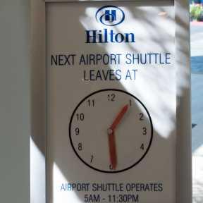 Photo of Irvine Hilton Irvine / Orange County Airport - Valet Lot