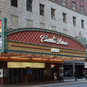 Cadillac Palace Theater Parking