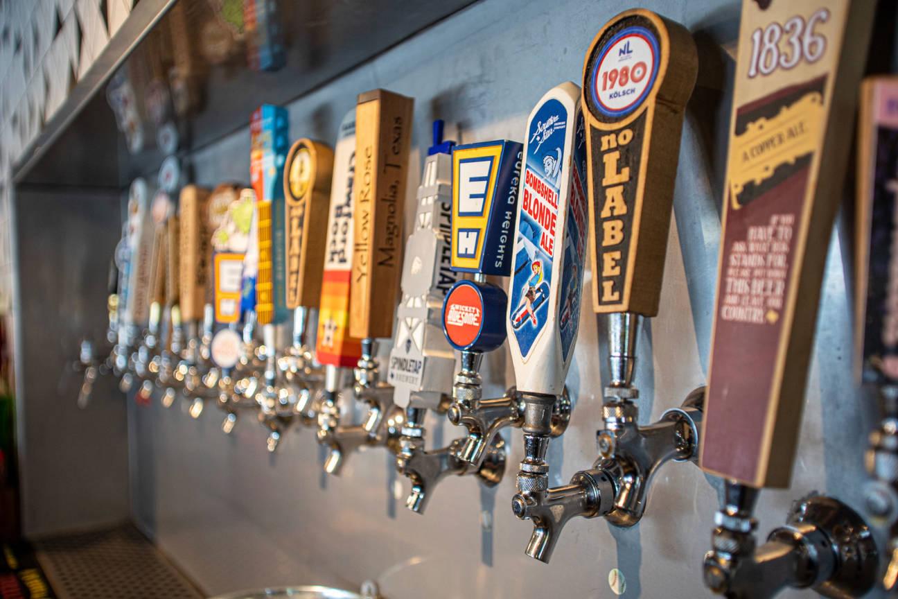 Lazy Oaks Beer Garden - Spring Branch, Houston, TX