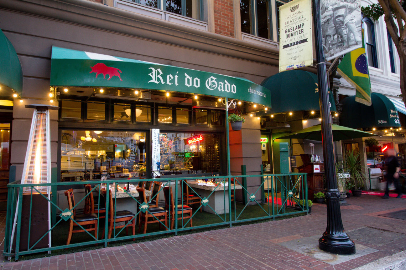 Rei Do Gado Brazilian Steak House Downtown Gaslamp