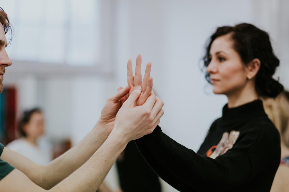 Intimate dancers scene 1