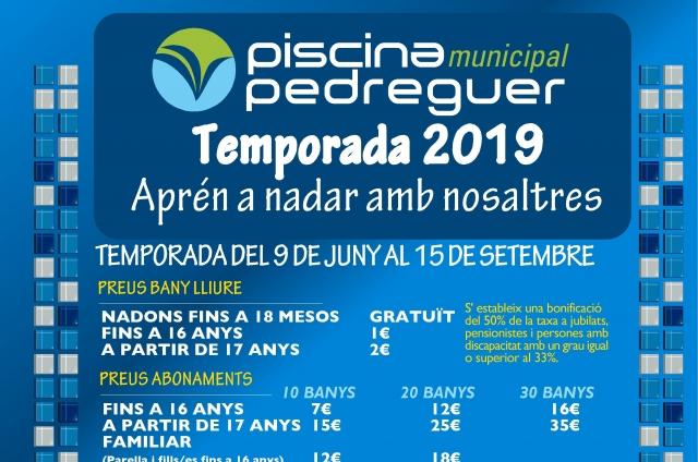 PISCINA MUNICIPAL - NATACIÓ 2019